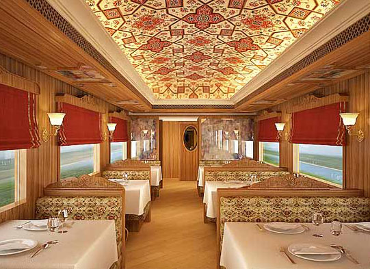 The Maharaja Express A Regal And Exotic Journey By Train