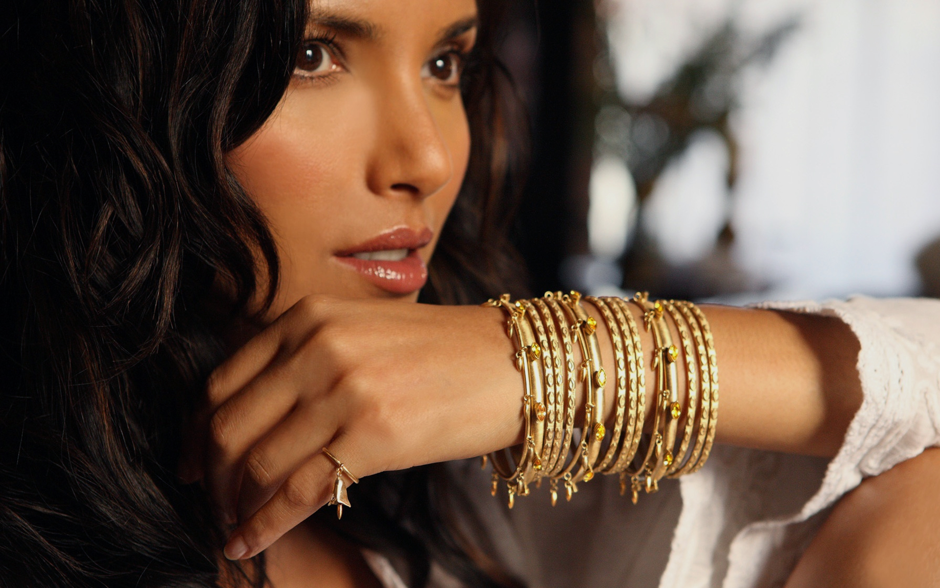 Padma Lakshmi's Jewelry line for HSN