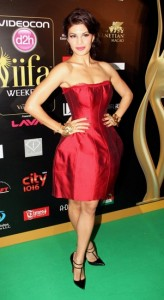 Jacquline-Fernandez-at-IIFA-Rocks-Green-carpet
