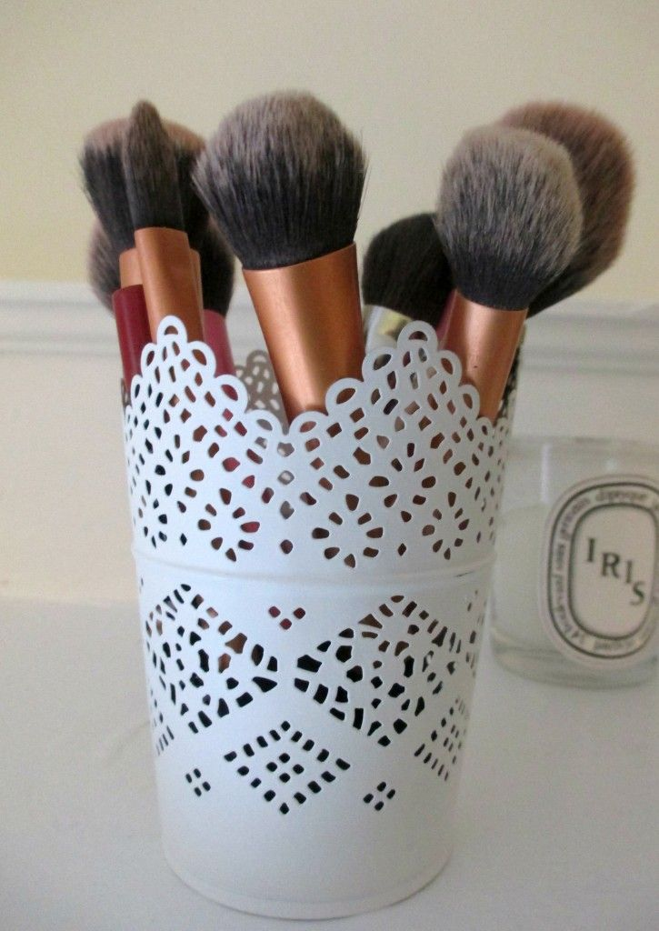 Diy Makeup Storage Ideas She Magazine